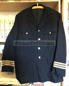 wo204 - c1960's British Airline Pilot Tunic - named to PW Carr - Bluebird Spare Pilot!!