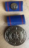 om978 - East German Merchant Navy Handelsmarine long service medal in gold