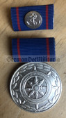 om979 - East German Merchant Navy Handelsmarine long service medal in silver