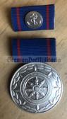 om979 - East German Merchant Navy Handelsmarine long service medal in silver