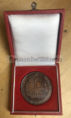oo083 - Prize of the City of Rostock - large cased table medal