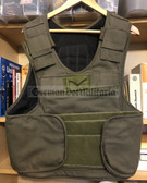 wo577 - British Army Overt Green Body Armour Flak Vest - large size
