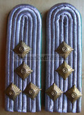 sbvp024 - HAUPTMANN DER VP - Volkspolizei VoPo - police - pair of shoulder boards - SEE ITEM DESCRIPTION FOR WHERE TO BUY