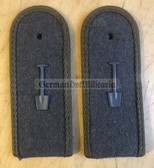 sbfdbs001 - BAUSOLDAT - Bautruppen - Service without Weapon - pair of subdued shoulder boards