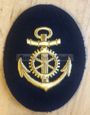 om308 - 2 - Maat Volksmarine Technischer Dienst - Technical Service - sleeve patch - blue