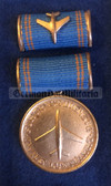 om341 - 1st model 5 years long service medal in Civilian Aviation - Interflug