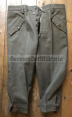 wo254 - Italian Army Italy Mountain Troops Alpini M60 knew length trousers