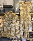 wo682 - British Army desert camo uniform suit - jacket & trousers