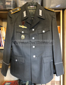 wo707 - NVA Conscript Parade Uniform jacket - Signals Gefreiter with multiple awards - size m48