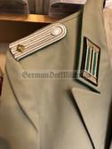 wo704 - Grenztruppen Border Guards Officer Gala Jacket with Unterleutnant shoulder boards - Gesellschaft - size k44