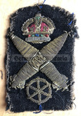 kmm002 - British Royal Navy Torpedo Specialist - WW2 era uniform patch