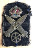 kmm002 - British Royal Navy Torpedo Specialist - WW2 era uniform patch