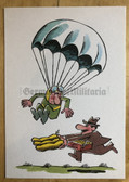 wpc554 - NVA cartoon fun original DDR postcard