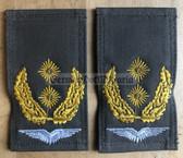 om740 - 5 - original Bundeswehr Luftwaffe Generalleutnant field service shoulder boards