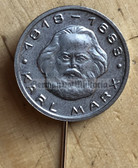 om317 - East German Karl Marx stick pin