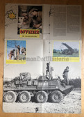wb207 - c1980's East German NVA Land Army career officers recruitment poster & brochure