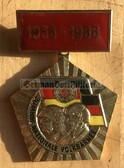 om833 - 47 - NVA 30th anniversary medal - worn on uniforms