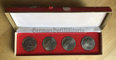 oo064 - 3GST Wehrspartakiaden - national paramilitary competitions - presentation coin set in case