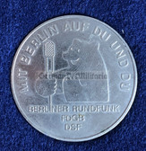oo062 - c1979 Berliner Rundfunk - East Berlin Radio Station - presentation coin in luxury case