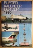 lwb002 - c1985 FLIEGERKALENDER DER DDR - aviation yearbook
