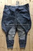 "pm006 - c1950's/60's Bundeswehr riding competition breeches - 42"" waist"