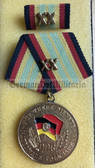 om911 - 3 - NVA ARMY - Long Service Medal in Gold for 20 years service
