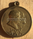 rp012 - c1948 Soviet Army 30th anniversary medal with Stalin