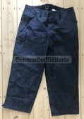 rp030 - NVA Panzer Tank black work uniform trousers - different sizes available