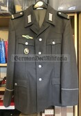 wo199 - NVA Conscript Uniform jacket - Rear Services Gefreiter with multiple awards - size g48
