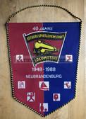 oo308 - c1988 BSG Lok Neubrandenburg Sports Club Wimpel Pennant