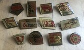 om431 - complete set of NVA soldier initiative badges upto 1981