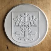 om414 - large Meissen Porcelain City of Eberswalde Finow table medal