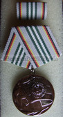 om947 - 2 - NVA ARMY - 30 JAHRE NATIONALE VOLKSARMEE medal - 30 years anniversary - scarce
