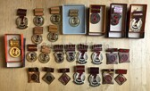 bc011 - large collection East German Aktivist medals from 1950's to 1990 - Bargain Corner