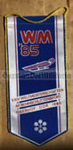 oo335 - c1985 World Championships in Sledging in Oberhof Wimpel Pennant