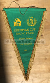 oo340 - c1989 Bruno Zauli Athletics European Cup in Dublin Ireland Wimpel Pennant