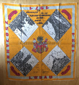 oo401 - c1971 OHS Loebau Officer College graduation commemorative scarf