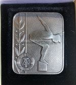 oo355 - East German Swimming Federation cased table award medal