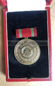 om097 - 5 - 20 years Bodenreform anniversary medal from 1966 in luxury box