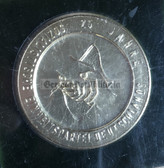 oo407 - 3 - 25years anniversary SED Party in Wittenberg medal coin in case