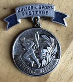 oa007 - c1960's local event medal - Walzwerk Hettsedt