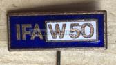 oa018 - enamel IFA W50 truck pin - very unusual
