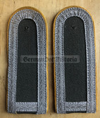 sblay005x - 5 - Gaberdine UNTERFELDWEBEL - Nachrichten - Signals - pair of shoulder boards