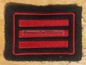 om267 - West German Feuerwehr Fire Fighter rank patch