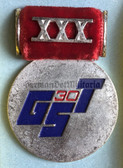 om385 - GST 30th anniversary medal for high ranking officials in box