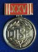 om248 - 25th anniversary of the DTSB presentation medal in box