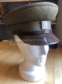 rp057 - CSFR 1990 to 1992 transitional Czechoslovakia Army Officer visor hat - size 56