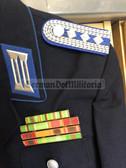 wo802 - TraPo Transportpolizei Transport Police uniform jacket with 15 place!! ribbon bar - size m48-1