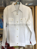 wo805 - original NVA, Stasi and Grenztruppen General summer white blouse shirt - different sizes available