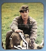 gw011 - c1980's East German Land Forces Army NVA officers recruitment poster & brochure